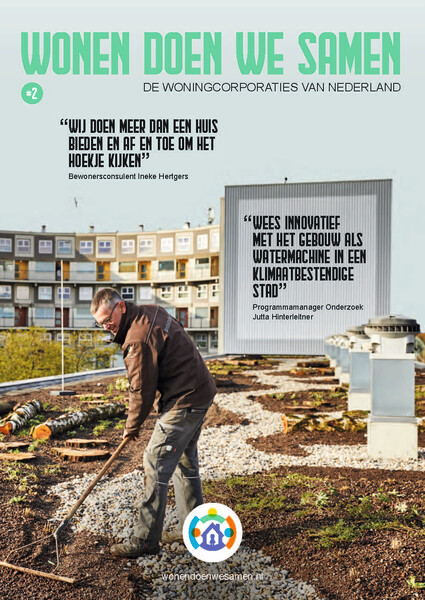 Magazine Wonen doen we samen - Duurzaamheid